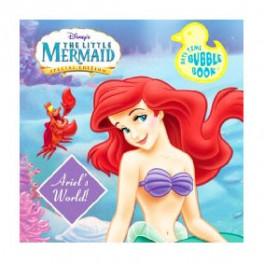 Ariel Bath Time Bubble Book