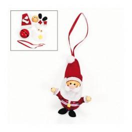 Jinglebell & Wooden Santa Craft Kit