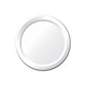6 Inch White Paper Plates