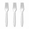 5 Inch White Plastic Forks