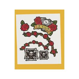 Skulls n Roses Tattoos