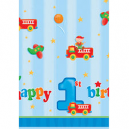 Fun At One Boy Tablecover