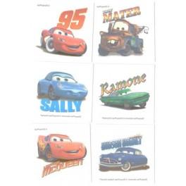 Disney Pixar Car Tattoos