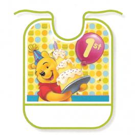 Pooh 1st Birthday Bib