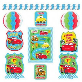 Cars 1st Birthday Deco Kit