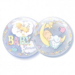 "22"" Precious Moments Baby Bubble Balloon"