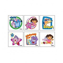 Dora & Friends 2 Tattoos