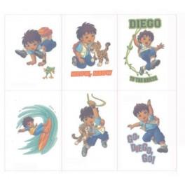 Diego Tattoos