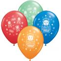 "12"" Thomas The Tank Latex Balloons"