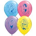 "11"" Disney Princess Latex Balloons"