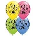 "11"" Minnie Mouse Latex Balloons"