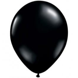 "12"" Black Latex Balloons"