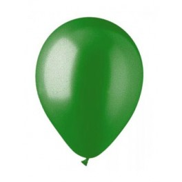"12"" Metallic Pearl Jungle Green Latex Balloons"