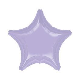 "18"" Lilac Star Mylar Balloon"