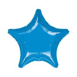 """18"""" Blue Star Mylar Balloon"""