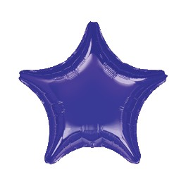 "18"" Purple Star Mylar Balloon"