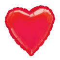 "18"" Red Heart Mylar Balloon"