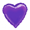 "18"" Purple Heart Mylar Balloon"