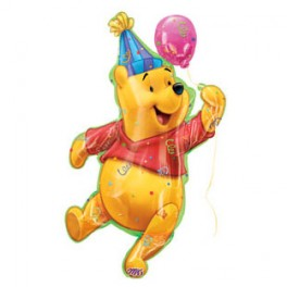 "26"" Pooh Party Mylar Balloon"