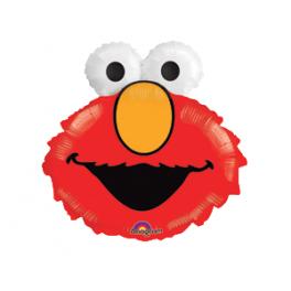 "20x18"" Elmo Head Mylar Balloon"
