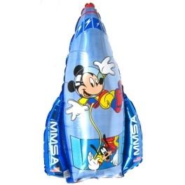 "26"" Mickey Rocket Mylar Balloon"