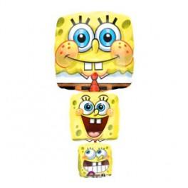 "38"" Spongebob Stack Shape Mylar Balloon"