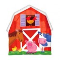 "22"" Barnyard Fun Animals Mylar Balloon"