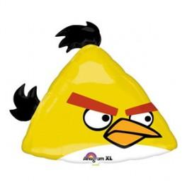 """23"""" Angry Bird Yellow Bird Mylar Balloon"""