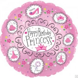 "18"" Princess Mylar Balloon"