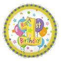 "18"" 1st Birthday Mylar Balloon"