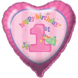 """18"""" Fun At One Girl Mylar Balloon"""
