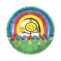 "18"" See-Thru Happy Birthday Mylar Balloon"