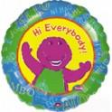 "18"" Barney Mylar Balloon"