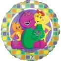 "18"" Barney & Friends Mylar Balloon"