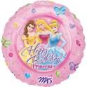 """18"""" Disney Princess Birthday Mylar Balloon"""