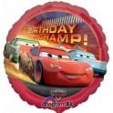"18"" Cars Birthday Champ Mylar Balloon"