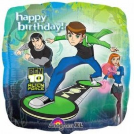 "18"" Ben 10 Alien Force HB Mylar Balloon"