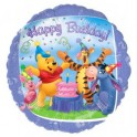 "18"" Winnie The Pooh Happy Birthday Mylar Balloon"