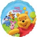 "18"" Pooh & Friends Sunny Birthday Mylar Balloon"