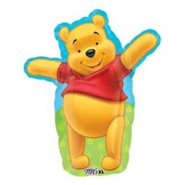 "18"" Winnie The Pooh Shape Mylar Balloon"