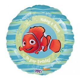 "18"" Finding Nemo Birthday Mylar Balloon"