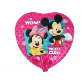 "18"" Mickey & Minnie Mylar Balloon"
