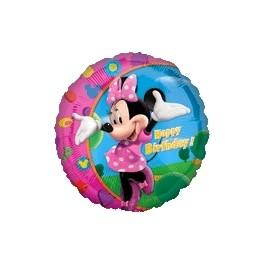 """18"""" Minnie Mouse Birthday Mylar Balloon"""