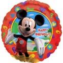 "18"" Mickey Clubhouse Birthday Mylar Balloon"