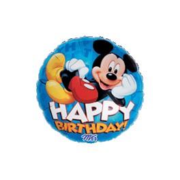 """18"""" Mickey Birthday Mylar Balloon"""