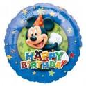 "18"" Mickey Mouse BD Stars Mylar Balloon"