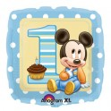 "18"" Mickey Mouse 1st BD Mylar Balloon"