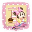 "18"" Minnie Mouse 1st BD Mylar Balloon"