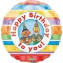 """18"""" Bert & Ernie Mylar Balloon"""