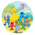 "18"" Sesame Street Party Mylar Balloon"